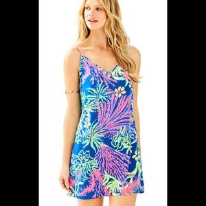 Lilly Pulitzer Lela silk dress size small